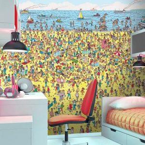 Where's Waldo Mural
