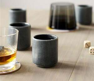 Whiskey Stone Shot Glasses