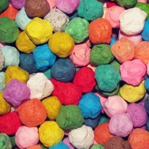 Wildflower Rainbow Seed Bombs