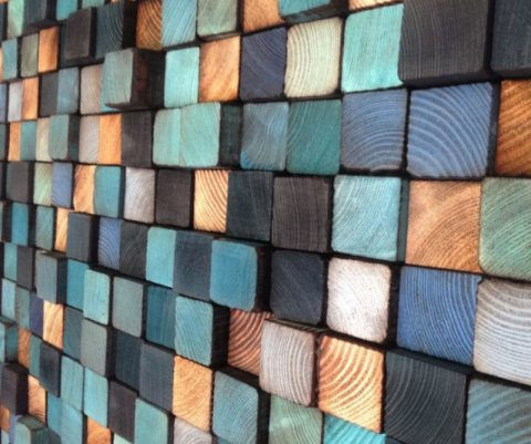 Wooden Wall Sculpture
