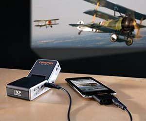 iPhone Movie Projector