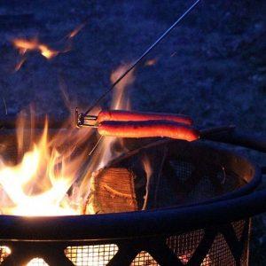 Always Flat Campfire Cooking Stick