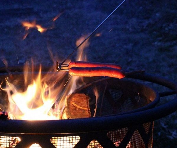 Always Flat Campfire Cooking Stick