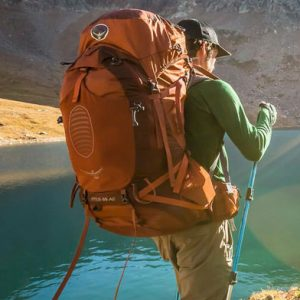 Anti-Gravity Suspension Backpack