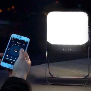 Connected Smartgrid Flatpack Lantern