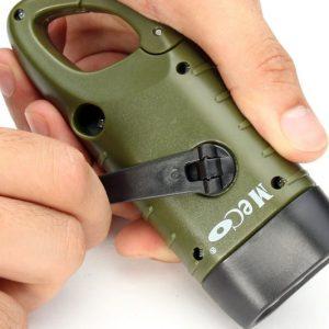 Emergency Hand Crank Flashlight