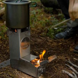 Hot Ash Wood Burning Stove