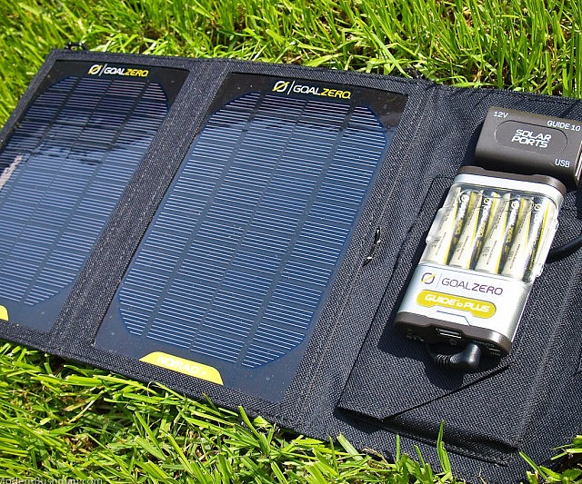 Portable Solar Panel Interwebs