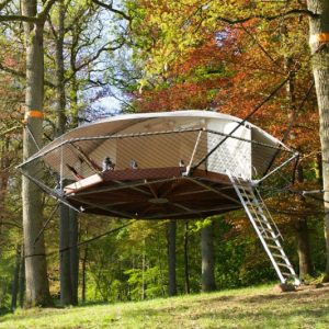 The Suspended Treehouse