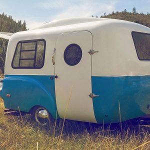 Vintage Styled Lightweight Camper