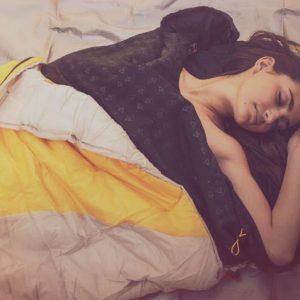 Wearable Heated Sleeping Bag Liners