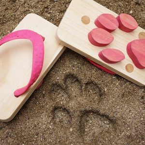 Animal Footprint Sandals