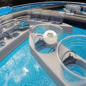 Battleship Floating Beer Pong