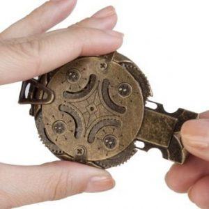 Cryptex Mechanical Steampunk Flash Drive