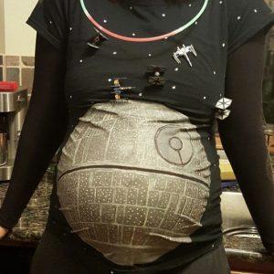 Death Star Maternity Shirt