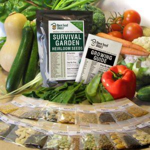Emergency Survival Seed Pack