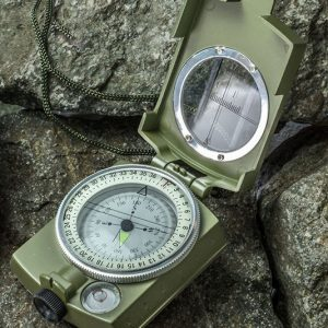 Military Grade Lensatic Sighting Compass