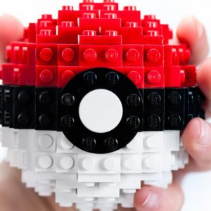 Pokeball LEGO Set