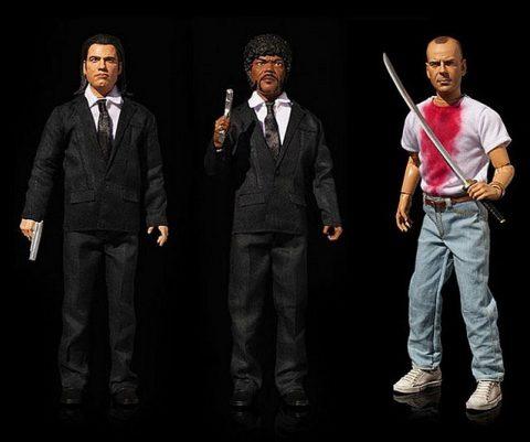 Pulp Fiction Cursing Action Figures