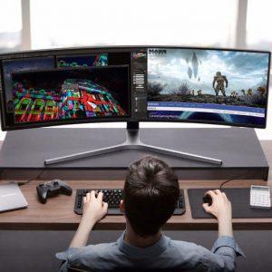 Samsung 49″ Curved Gaming Monitor