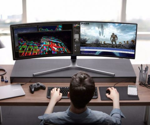 Samsung 49″ Curved Gaming Monitor
