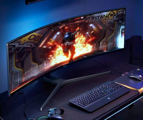 Samsung Curved 49-Inch Gaming Monitor
