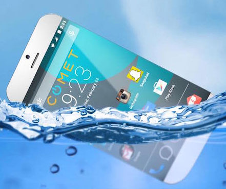 The Floating Smartphone