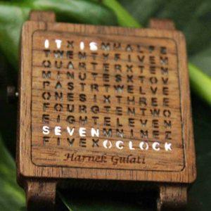 Wooden Word Watch