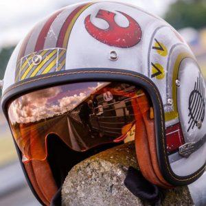 X-Wing Pilot Motorcycle Helmet