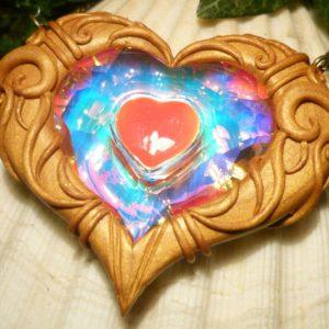 Zelda Heart Container Pendant