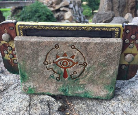 Zelda Themed Nintendo Switch