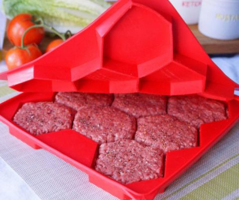 8-in-1 Burger Patty Press