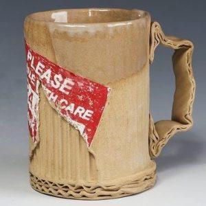 Ceramic Mugs That Look Like Cardboard