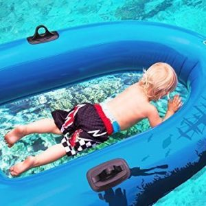 Clear Bottom Inflatable Raft