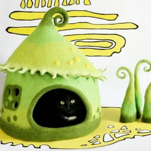 Fairy Tale Cat Cave Houses