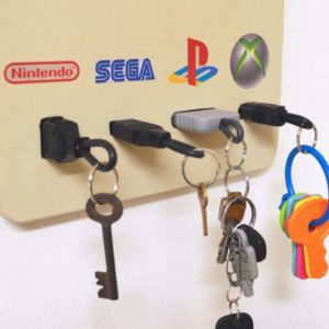 Gamer Themed Key Chain Holders