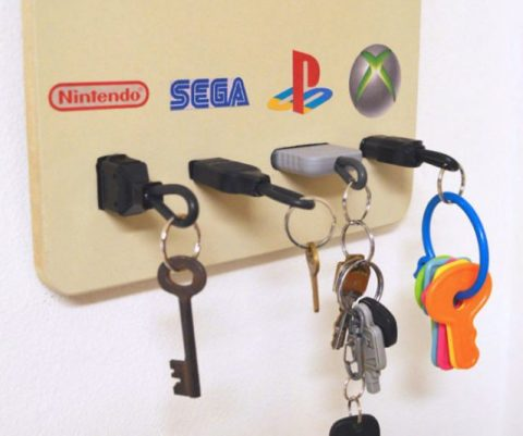 Gamer Themed Key Chain Holders