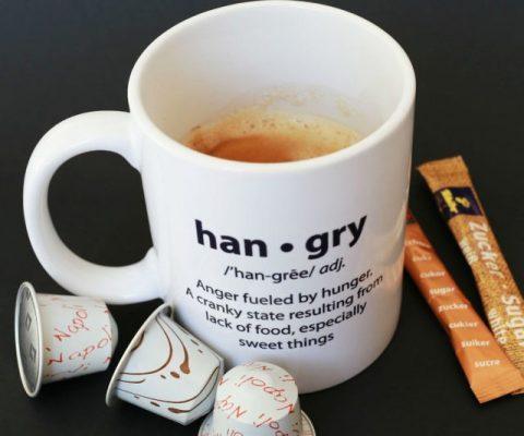 Hangry Definition Coffee Mug