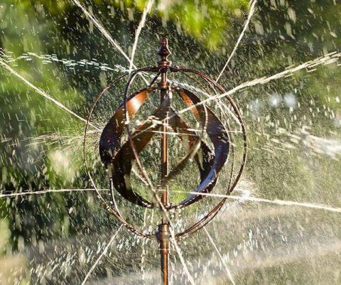 Hydro Ball Wind Spinner