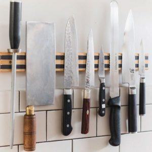 Magnetic Kitchen Knife Holder