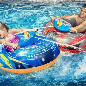 Motorized Water Blaster Bumper Boats