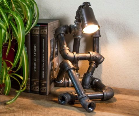 Sitting Robot Lamp