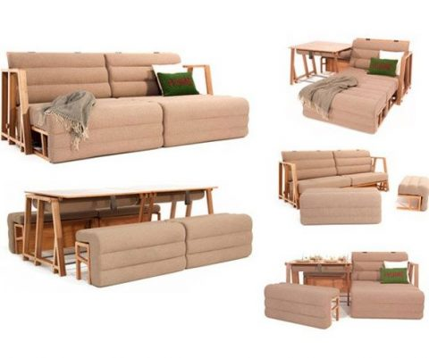 The Ultimate Transformable Couch