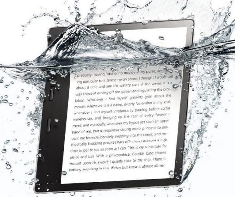Amazon Oasis Waterproof Kindle