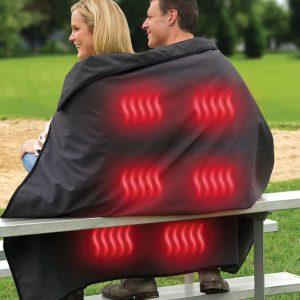 Cordless Heated Stadium Blanket