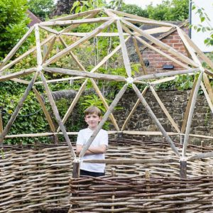 DIY Geodesic Garden Dome Kit