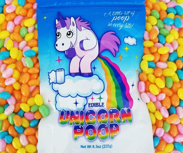 Edible Unicorn Poop Candy