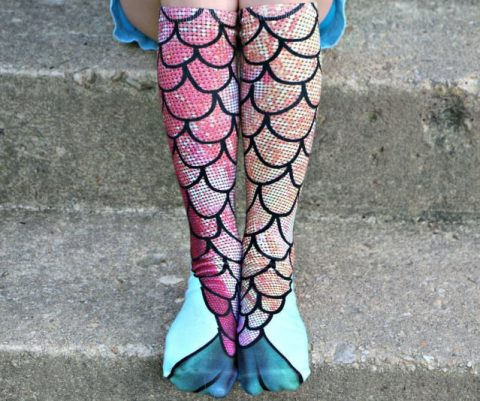 Mermaid Fin Socks