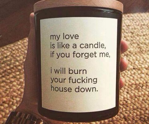 My Love For You Is Like A Candle