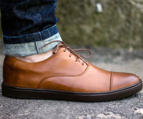 Sneakers Disguised As Dress Shoes